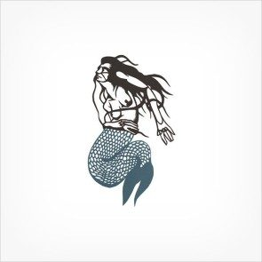 "Mermaid 12"" Single"
