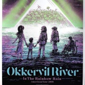 In The Rainbow Rain American Tour Poster