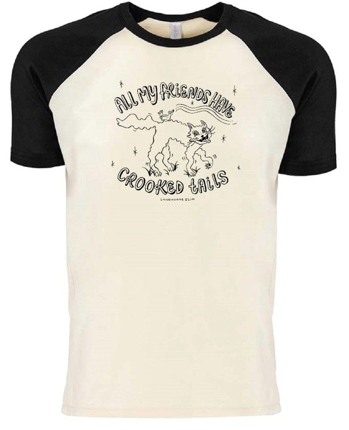 Crooked Tails Short Sleeve Raglan T