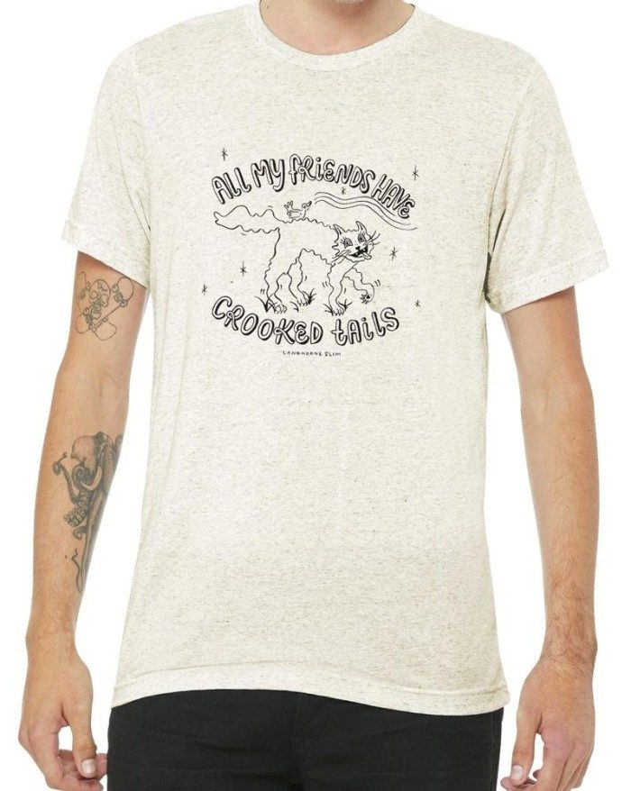 Crooked Tails Oatmeal Tri-Blend T