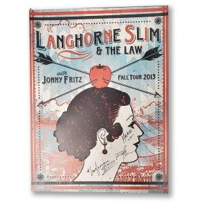 POSTER - Langhorne Slim & The Law Fall Tour 2013