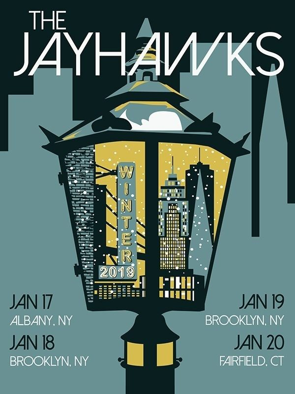 Poster - The Jayhawks Winter Tour 2019