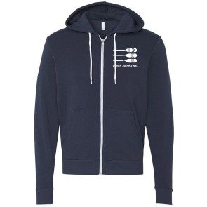 Camp Jayhawk Zip Up Hoodie