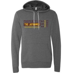 Property of The Jayhawks Pullover Hoodie