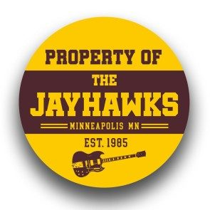 Property of The Jayhawks Round Sticker