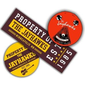 Jayhawks Sticker 3-Pack