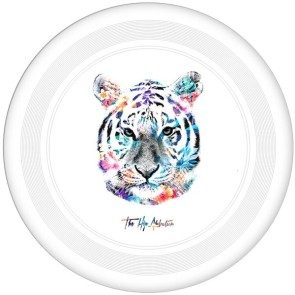Tiger Frisbee