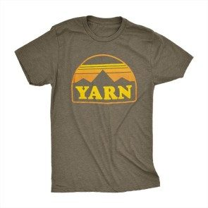 Yarn Mountain T, Heather Military Green