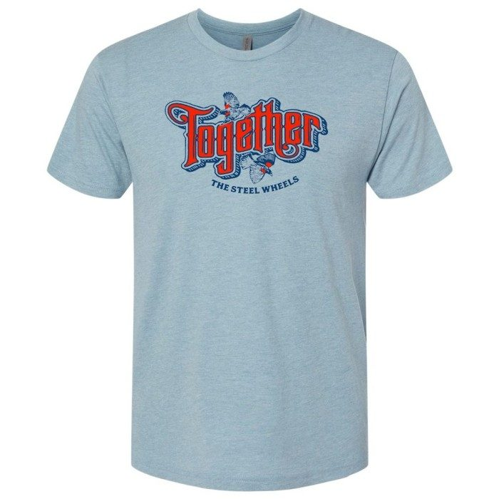 [PRE-ORDER] The Steel Wheels Together T