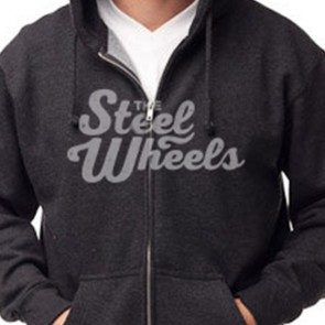 The Steel Wheels Logo Hoody