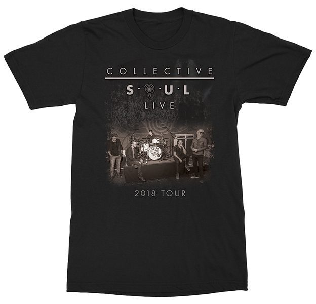 Collective Soul 2018 Tour T