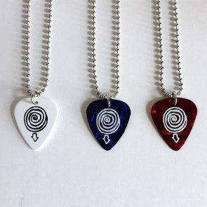 CS Guitar Pick Necklace