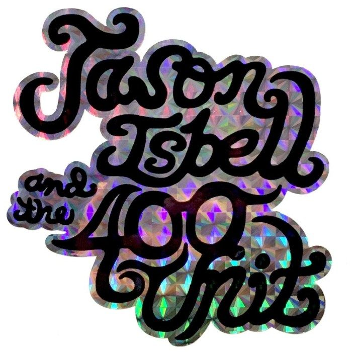 Jason Isbell and the 400 Unit Logo Prismatic Sticker