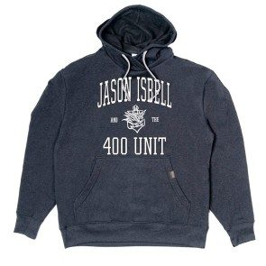 Jason Isbell and the 400 Unit Collegiate Logo Pullover Hoodie