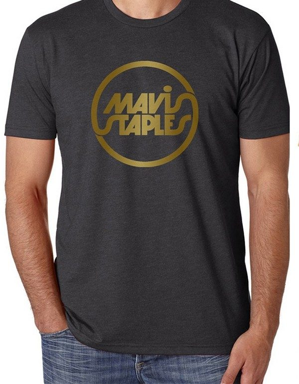 Charcoal Mavis Staples Circle Logo T