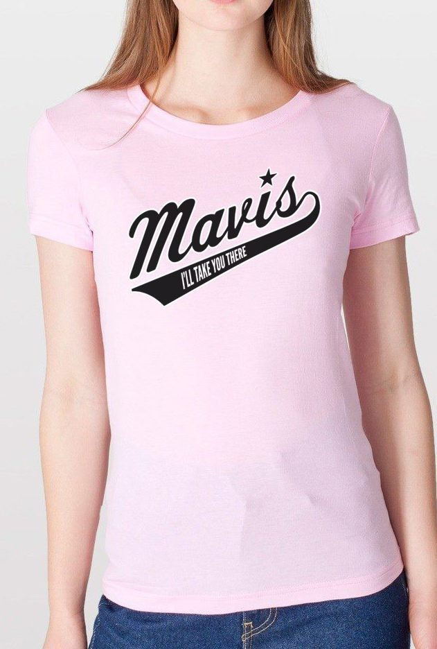 Women's Mavis Staples Baseball T