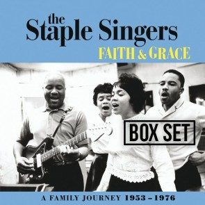 The Staple Singers - Faith & Grace: A Family Journey 1953-1976 AUTOGRAPHED Box Set