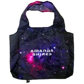 Amanda Shires Galaxy Fold Up Tote