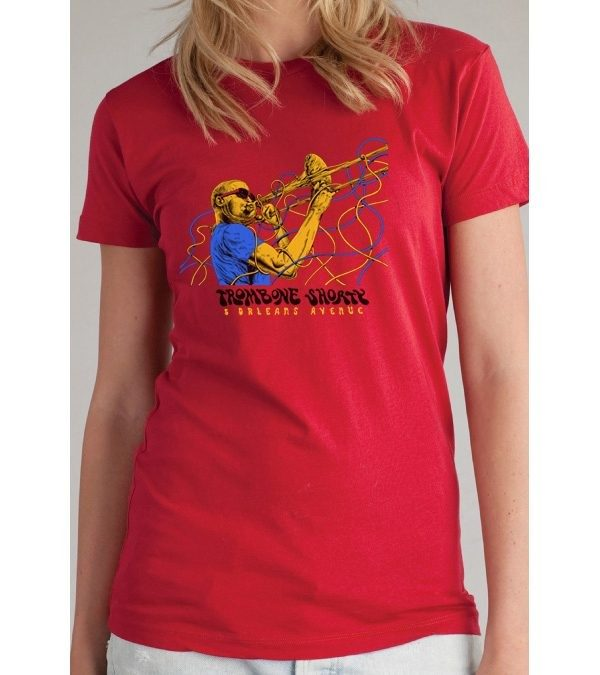 Women's Red Wires T