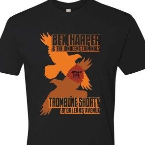 Ben Harper and Trombone Shorty Summer 2019 Tour T