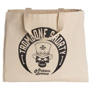 Trombone Shorty Canvas Tote
