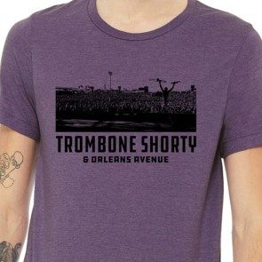 Purple Trombone Shorty Live T