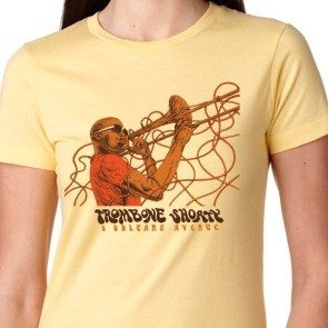 Women's Yellow Wires T