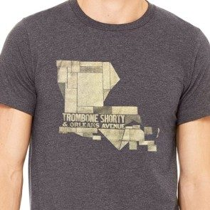 Louisiana Woodblock T