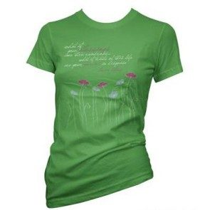 Women's Blessings Flower T