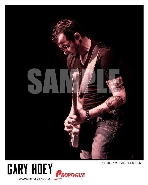 Autographed Gary Hoey Photo