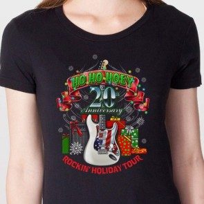 Women's 20th Anniversary Ho Ho Hoey Rockin' Holiday Tour T