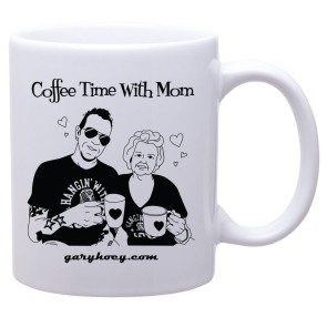 Coffee Time With Mom - Coffee Mug
