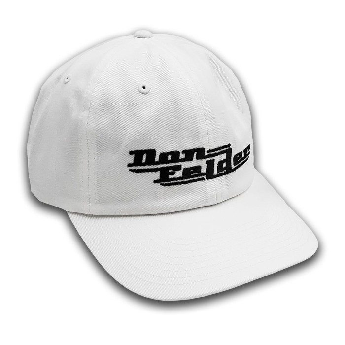 Don Felder Embroidered Logo Cap, White