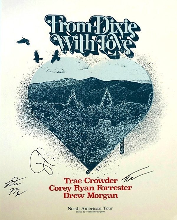 Autographed Limited Edition Tour Poster