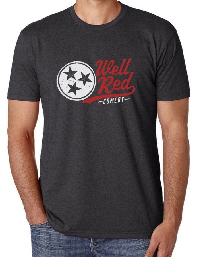 wellRED Comedy T, Charcoal