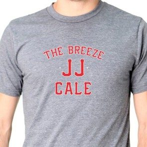 The Breeze Baseball T Heather Charcoal