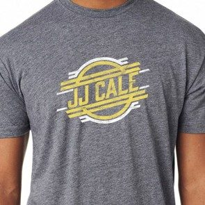 JJ Cale Retro Logo Premium Heather T