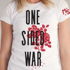 Women's One Sided War T