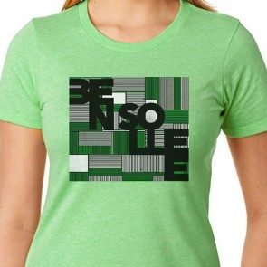 Women's Squares and Lines T
