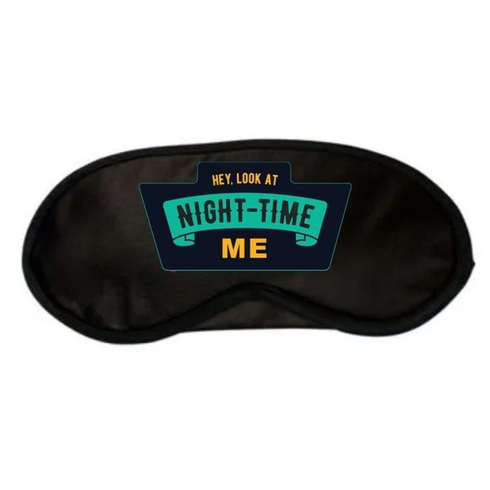 Night Time Me Sleep Mask