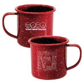 Wood, Fire, Water and Air Campfire Mug - Red