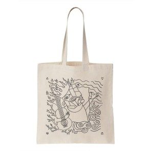Wood, Fire, Water and Air Tote Bag