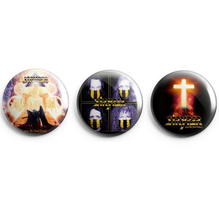 Even the Devil Believes Button 3-Pack