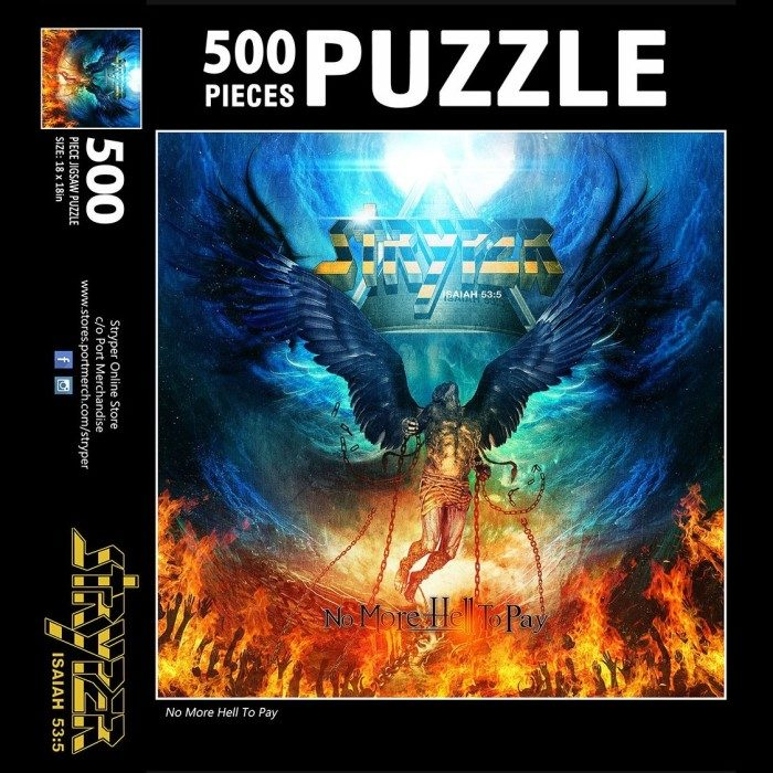 No More Hell To Pay Jigsaw Puzzle