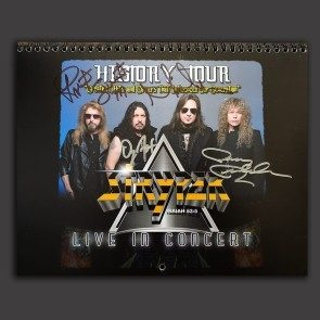 Stryper 18-Month Calendar (Autographed version available!)