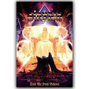 Even the Devil Believes Cover Art Poster