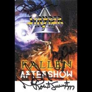 Autographed Pass #5 - Fallen Tour Aftershow