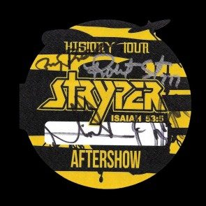 Autographed Pass #7 - History Tour Aftershow