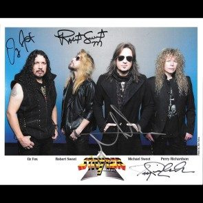 Autographed Stryper Photo #1