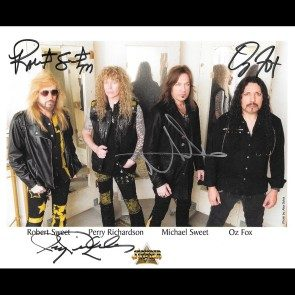 Autographed Stryper Photo #2